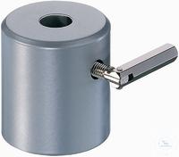 Tonnenfuß 500 g, für Stäbe bis 13 mm Stahl, pulverbeschichtet