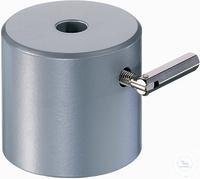 Tonnenfuß 1100 g, für Stäbe bis 13 mm Stahl, pulverbeschichtet
