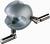 2Artikel ähnlich wie: Kugelmuffe für Stäbe bis 13 mm, Zinkdruckguss, pulverbeschichtet 35 mm Ø,...