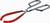 Becherzange, rostfrei, 260 mm, kunststoffbeschichtet Spannbereich 40–100 mm