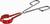 Kolbenzange, rostfrei, 300 mm, kunststoffbeschichtet Spannbereich 45 – 70 mm