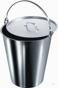 4Articles like: Bucket, 295 X 255 mm (D X H), 10 L stainless steel stainless...