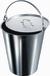 Eimer, 295 X 255 mm (Ø X H), 10 L, rostfreier Edelstahl, konisch graduiert