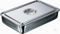 Instrument case 315 X 215 X 60 mm stainless steel