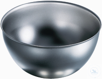 Abdampfschale 120 mm Ø, hoch, rostfreier Edelstahl