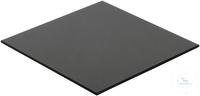 Glaskeramik-Platte, 160 x 160 mm Stärke 3,8 mm, geschliffene Kanten, nutzbar über offener...