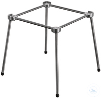 Stainless 4-feet stand 120 x 120 mm stainless steel*excellent stability*optimum height for use...
