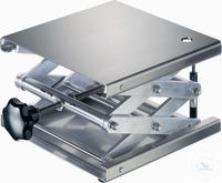 Hebebühne 300 X 300 mm, DIN 12897, rostfreie Edelstahlplatten hohe Scherstabilität,...
