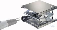 Hebebühne 300 X 300 mm, DIN 12897, verstellbar per Akkuschrauber Neukonstruktion patentamtlich...