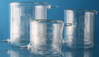 Becherglas temperiert, versch. Volumen 100,150,250,500,800,1000,2/3/5000 ml Zur Verwendung bei...