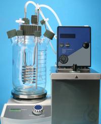 Bioréacteur 2 l MyFerm Réacteur en verre d'un volume de 2 litres, par exemple pour l'incubation...