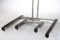 Stainless steel stand for perforator H-stand base, 490 *540, with height...