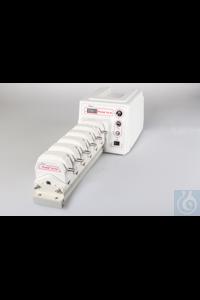 Schlauchpumpe iPump6S-W, Antrieb für bis zu 8 Kanäle variabel bis 600 UPM Die Peristaltikpumpe...