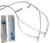 Schlauchsatz für Kontinuierliches Pumpsystem Ersatzteilset   2 * Schlauchleitungen mit Ventilen