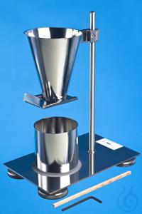 Apparatur zur Bestimmung der Schüttdichte DIN ISO 697    Das Schüttdichteprüfgerät wird zur...