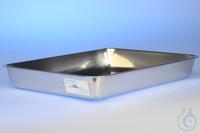 Auffangwanne für Apparatur, 350*250*50 mm aus Edelstahl