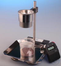 Apparatus for determination of flow rate 'Hall-Flowmeter' ISO4490 /...