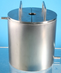 Tempering vessel, double-walled, material 1.4301, bottom 2 mm Inner diameter: 175 mm Outer...