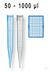Pipettenspitzen, lose, 50 -1000 µl, unsteril, IVD, VE = 5000 PP, farblos,...