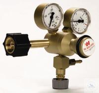 Druckminderer Kohlensäure mit Inhalts- und Arbeitsmanometer, Druckminderer CO2, Ms., inkl. Vor-...