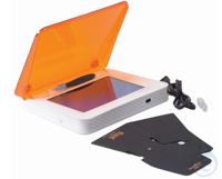 BLOOK TRANSILLUMINATOR LED 20X12 CM + DECKEL    - Patentierter ergonomischer...