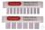 KAMM 1 MM DICKE 10 PROBEN    Zubehör zum EHS1100-Serie-Elektrophorese-System....