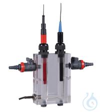 FC3020T 2-KANALFLUSSZELLE MIT TEMPERATURSENSOR    2-Kanal-Durchflusszelle mit...