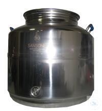 Edelstahlkanne 30 Liter mit Auslaufhahn Edelstahlkanne 30 Liter mit Auslaufhahn
