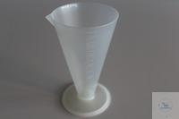 Plastiktrichter 500 ml mit Ausguss
