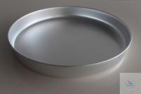 Aluminiuschale D. 41cm  Höhe:5 cm  Durchmesser: 41 cm