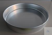 Aluminiumschale Durchmesser 41cm  Höhe: 7 cm  Durchmesser: 41 cm