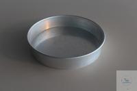 Aluiniumschale Durchmesser 21cm  Höhe: 4 cm Durchmesser: 21 cm