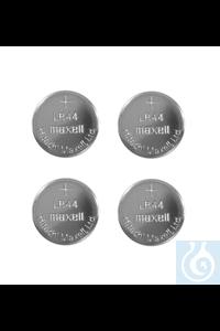 Button cell batteries, Type LR 44, 1.5 Volt (4 off) Button cell batteries,...