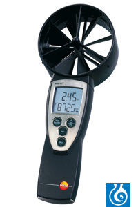 testo 417 - Vane Anemometer For carrying out measurements at disk valves,...
