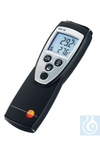 testo 720 - Temperature meter Port for one RTD or NTC sensorUser-defined...