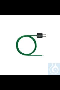 Thermopaar mit TE-Stecker, flexibel, Länge 1500 mm Thermopaar mit...