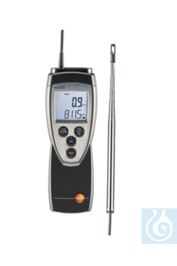 testo 425 - Compact Thermal Anemometer Temperature and flow measurement as well as volumetric...