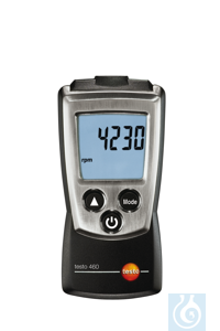 testo 460 - Compact Optical RPM meter Optical rpm measurementsLED measuring...