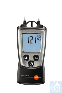 testo 606-1 - Moisture Meter Characteristic curves for different types of...