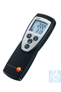 testo 922 - 2 Channel Differential Thermometer Wide measuring range from -50 °C to 1 000 °C...
