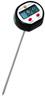 Wasserdichtes Mini-Einstechthermometer Inklusive Schutzrohr mit Halte-ClipLufttemperatur und...