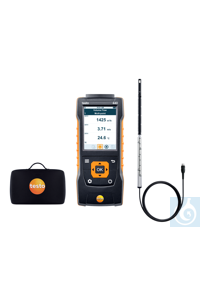 testo 440 Hot Wire Kit Use this practical kit to measure air velocity...