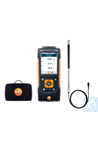 testo 440 16 mm Vane Kit Use this practical kit to measure flow velocity and...