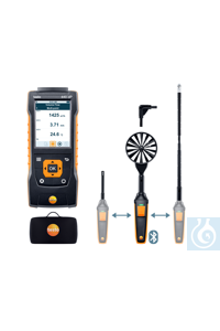 testo 440 delta P Air Flow ComboKit 2  with Bluetooth® Carry out measurements...