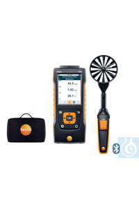 testo 440 100 mm Vane Kit with Bluetooth® Use this practical kit to measure...