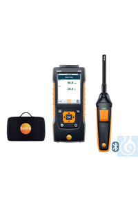 testo 440 Humidity Kit with Bluetooth® Use this practical kit to measure the...