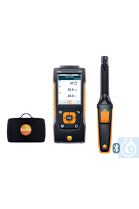 testo 440 CO? Kit with Bluetooth® Use this practical kit to measure CO2...