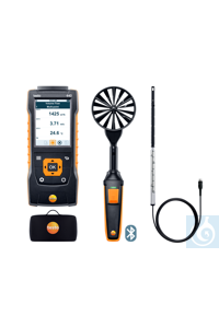 testo 440 Air Flow ComboKit 1 with Bluetooth® Use this practical kit to...