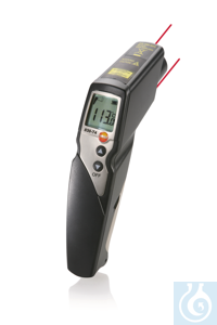 testo 830-T4 - Infrared Thermometer One temperature probe can be connected for additional contact...