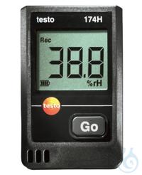 testo 174 H - Temperature and humidity mini data logger The testo 174 H...